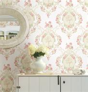 Pink Maybelle Cameo Damask