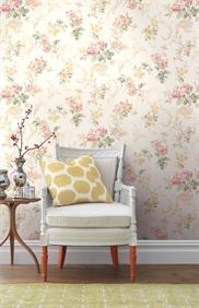 springtime-cottage wallpaper room scene 4