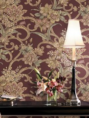AL13744 Jacobean Mosaic Wallpaper