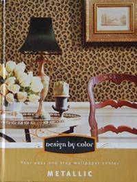 Wallpapers by Design by Color/Metallic Book
