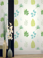 eco-chic wallpaper room scene 2