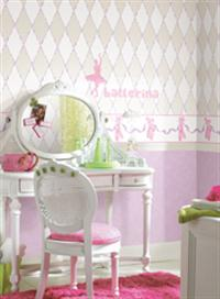 Girls Wall Border