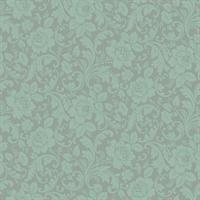 Allover Damask Wallpaper