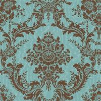 Antoinette Damask Wallpaper