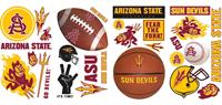 Arizona State Peel & Stick Wall Decals