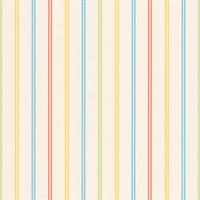 Blue, Orange, Yellow Stripe