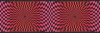 Checkered Illusion Wallpaper Border