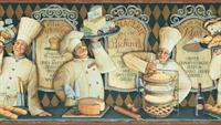 Chef Wallpaper Border