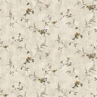 Country Floral Sidewall
