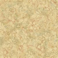 Damask Trail Wallpaper