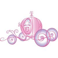 Disney Princess Scroll Carriage