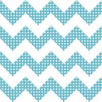 Dotty Chevron Stripe