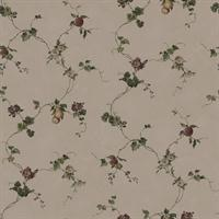 Floral and Fruit Country Sidewall