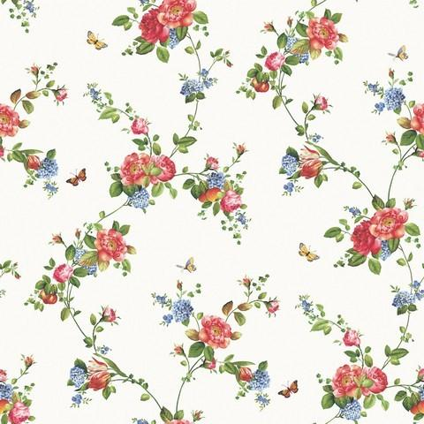 Floral Trail Wallpaper