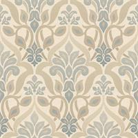 Fusion Ombre Damask