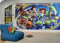 Giant Toy Story