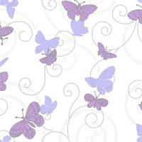 Glittered Butterflies and Scroll