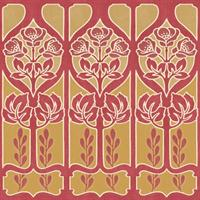 Gothic Flower  Border (Stock)