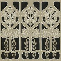 Gothic Flower Wallpaper - Wallpaper Border