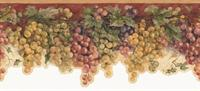 Grape Vine Wallpaper - Wallpaper Border