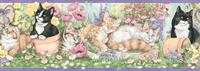 Kittens Wallpaper Border