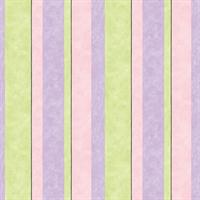 LA Paris Stripe Wallpaper