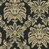 Large Damask Wallpaper