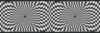 Optical Illusion Wallpaper Border