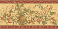 Pineapple & Pomegranate Wallpaper - Wallpaper Border