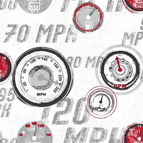 ks2325 black and white race car gauges wallpaper totalwallcovering