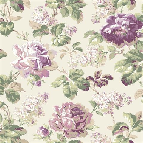 FD8498 Rose Floral Riverside Park By York