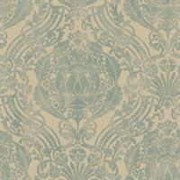 Silk Damask Wallpaper