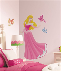 Sleeping Beauty Decals