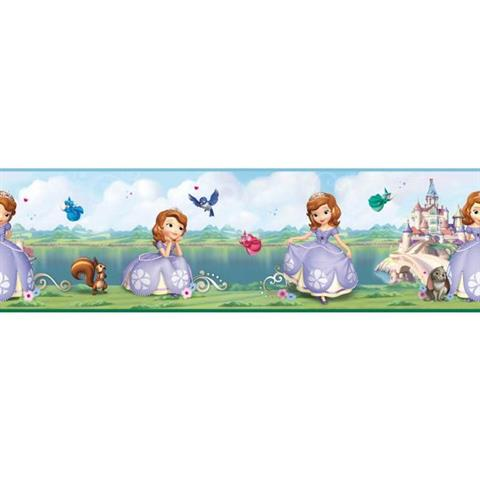 DS7618BD Sofia The First Girls TotalWallcoveringCom
