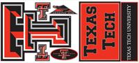 Texas Tech University Giant Peel & Stick Wall Decals