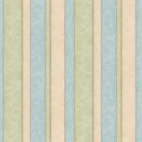Tonal Multi Stripe Wallpaper