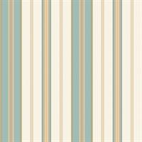 Traditional Multi Stripe Wallpaper