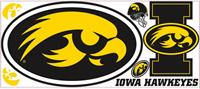 University of Iowa Giant Peel & Stick Wall Decals
