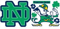 University of Notre Dame Giant Peel & Stick Wall Decals