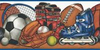 Various Sports Wallpaper Border