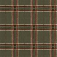 Vintage Plaid Wallpaper
