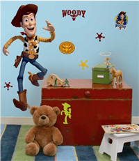 Woody Giant Decal