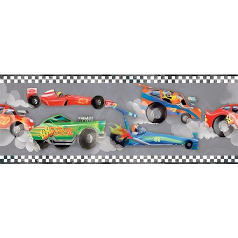 Zb3222bd Race Car Border Boys Will Be Boys Vol Ii