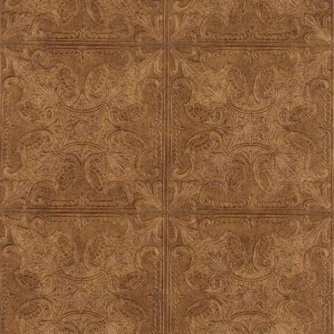 Pa131206 country keepsakes wallpaper book by york - American tin tiles wallpaper ...